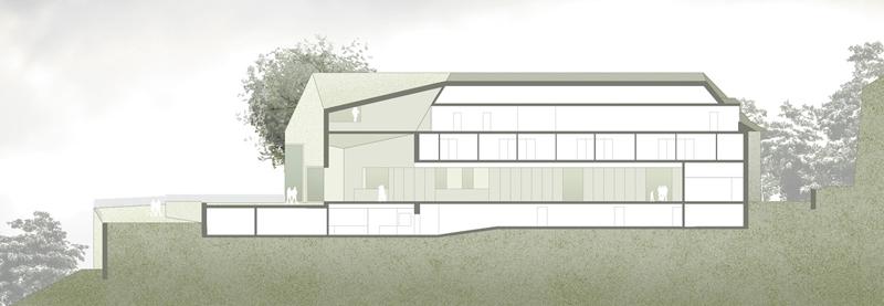 Studio wessendorf architektur drachenfels k nigswinter - Architektur schnitt ...